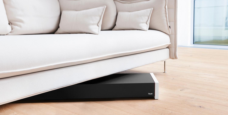 lautsprecher teufel subwoofer im slimline design av residential. Black Bedroom Furniture Sets. Home Design Ideas