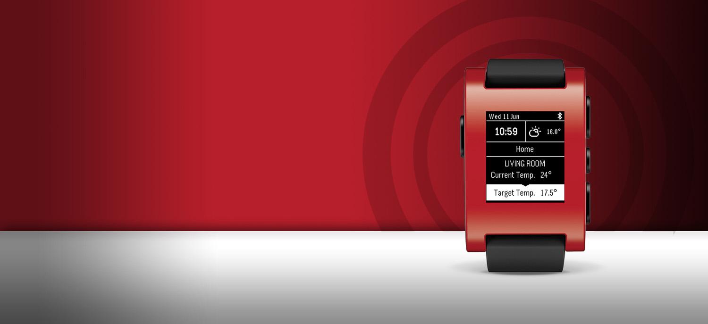 Pebble Smartwatch Display