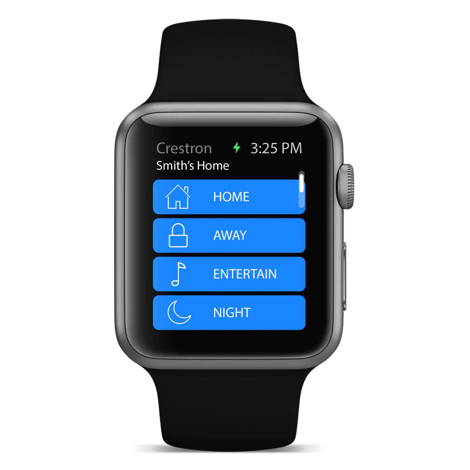 Crestron Apple Watch App