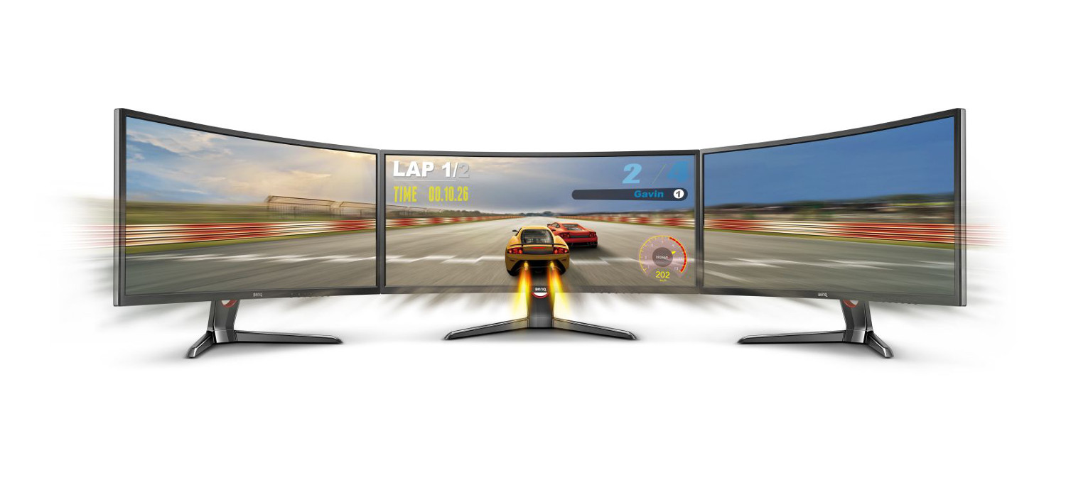 Curved Display BenQXR3501