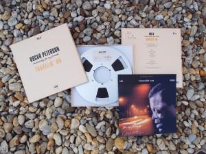 Oscar Peterson auf Master Tape