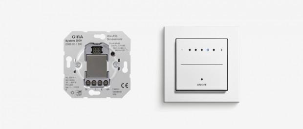 System 2000-Uni-LED-Dimmeinsatz