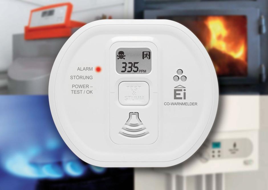 CO-Warnmelder von Ei Electronics