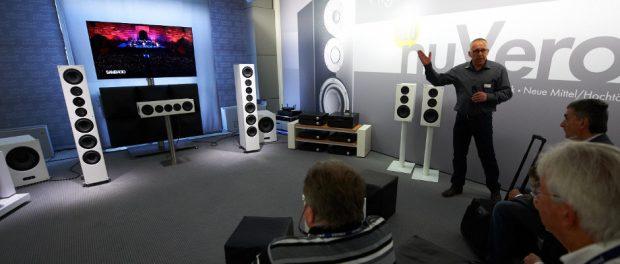 Audiovorführung auf der High End