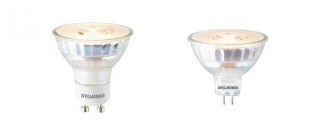 RefLED Retro ES50 GU10 (links) und MR16