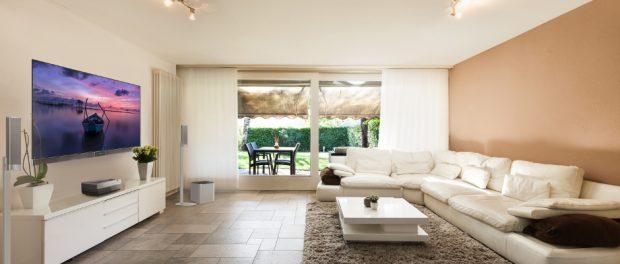 Hisense 4K Laser Cast Living Room