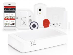 Alarmsystem evohome Security