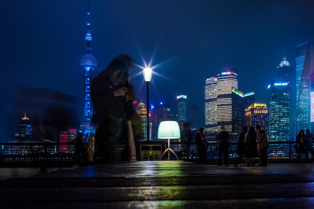 "Foscarini: ""Postcards of Light"" Shanghai Lumiere"