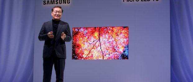 "Micro LED 75"" Display von Samsung"