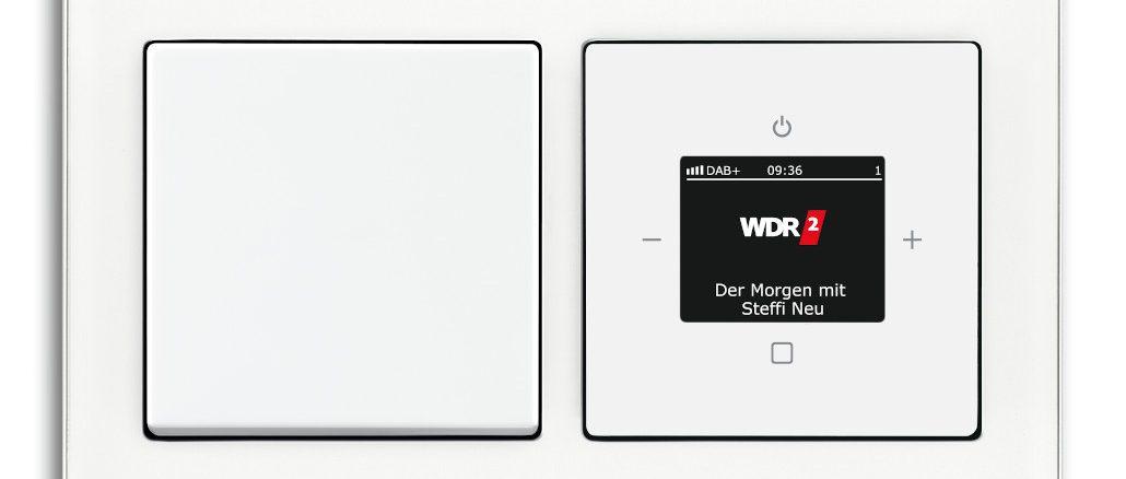 DAB+ Digitalradio von Busch-Jaeger